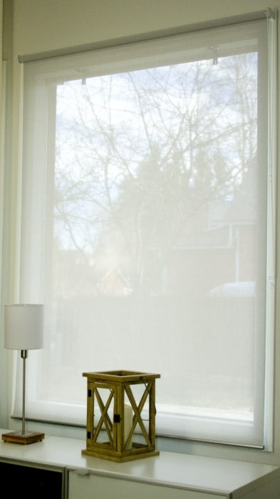 IHANIN Screen rullaverho vaaleanharmaa, korkeus 170 cm